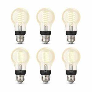 6x Philips Hue Filament Warm White E27 Standaardlamp