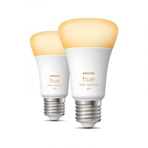 Philips Hue White Ambiance E27 Duopack met Bluetooth