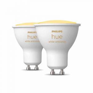 Philips Hue White Ambiance GU10 Duopack met Bluetooth