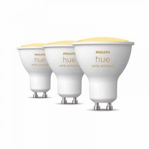 Philips Hue Spot GU10 White Ambiance 3-pack