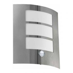 Eglo Wandlamp met sensor City Metaal 88142