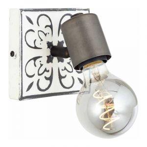 Brilliant Wandlamp Vagos Zwart 89610/75