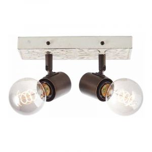 Brilliant Plafondlamp Vagos Zwart 89613/75