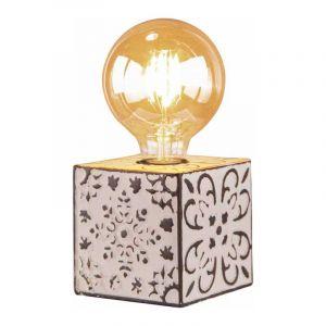 Brilliant Tafellamp Vagos Zwart 89647/75