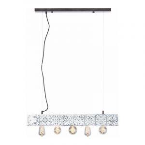 Brilliant Hanglamp Vagos Zwart 89673/75