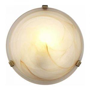 Brilliant Plafondlamp Mauritius Bruin 90103/20