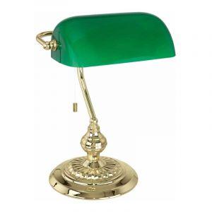 Eglo Bankierslamp Banker Messing 90967