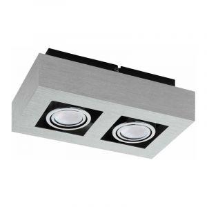 Eglo Plafondlamp Loke Aluminium 91353