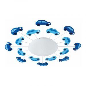 Eglo Plafondlamp Viki Blauw 92146