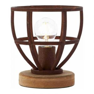 Brilliant Tafellamp Matrix Roest 92610/55