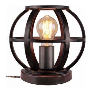 Brilliant Tafellamp Basia Zwart 93055/46