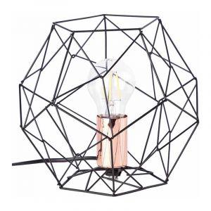 Brilliant Tafellamp Synergy Zwart 93593/76