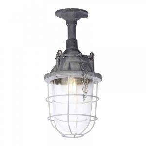 Brilliant Plafondlamp Storm Beton 93651/70