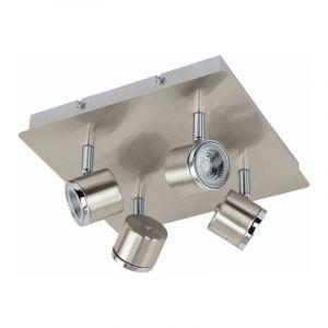 Eglo Spotlamp Pierino 4-lichts Nikkel 93696