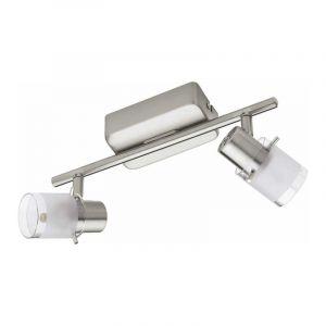 Eglo Spotlamp Orvieto 2-lichts Nikkel 93702