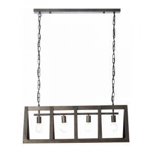 Brilliant Hanglamp Matrix Zwart 93760/46
