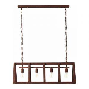 Brilliant Hanglamp Matrix Roest 93760/55