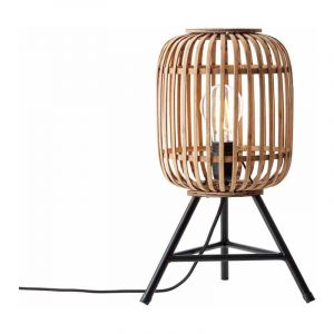 Brilliant Tafellamp Woodrow Bruin 93775/20