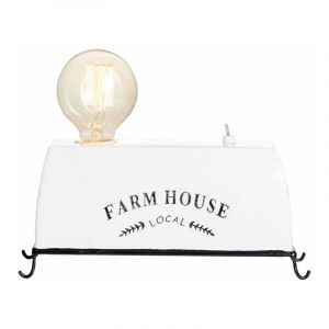 Brilliant Tafellamp Farm Life Wit 93784/05
