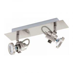Eglo Spotlamp Tukon 2-lichts Nikkel 94145