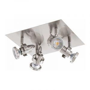 Eglo Spotlamp Tukon 4-lichts Nikkel 94147