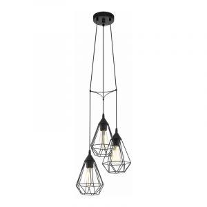 Eglo Hanglamp Tarbes Zwart 94191