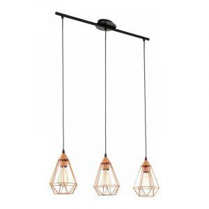 Eglo Hanglamp Tarbes Zwart 94195