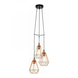 Eglo Hanglamp Tarbes Zwart 94196