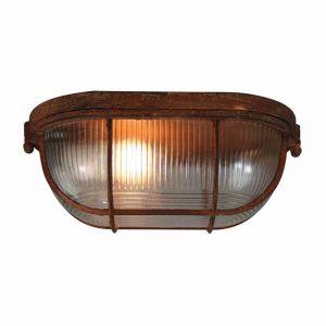 Brilliant Plafondlamp Bobbi Roest 94459/60