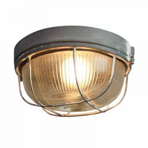 Brilliant Plafondlamp Lauren Beton 94480/70