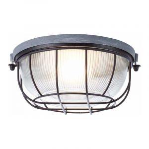 Brilliant Plafondlamp Lauren Beton 94481/76