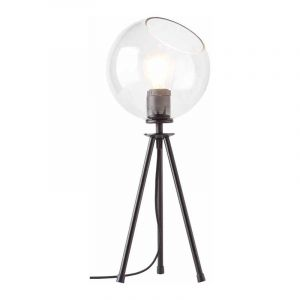 Brilliant Tafellamp Afton Zwart 94961/06