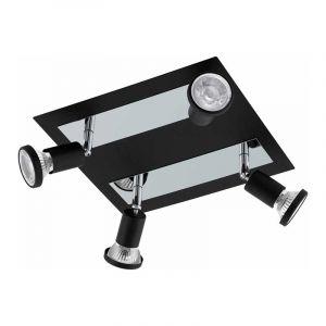 Eglo Spotlamp Sarria 4-lichts Zwart 94966