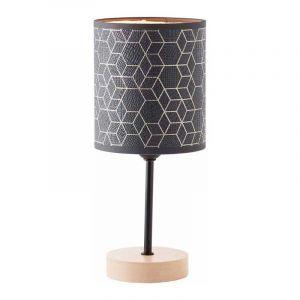 Brilliant Tafellamp Galance Zwart 94966/76