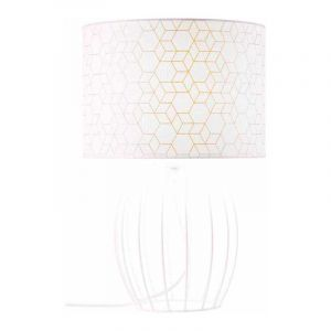 Brilliant Tafellamp Galance Wit 94969/05