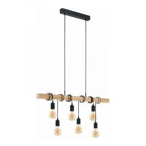 Eglo Hanglamp Townshend Zwart 95499