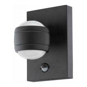 Eglo Wandlamp met sensor Sesimba Zwart 96021