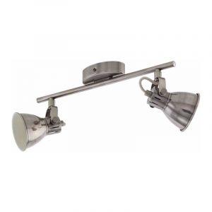 Eglo Spotlamp Seras 2-lichts Nikkel 96553