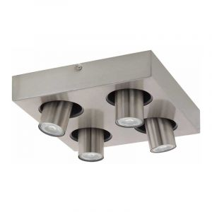 Eglo Spotlamp Robledo 4-lichts Nikkel 96608