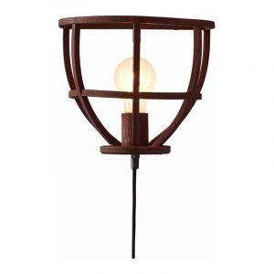 Brilliant Wandlamp Matrix Roest 96976/55