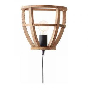 Brilliant Wandlamp Matrix Wood Hout 97063/66