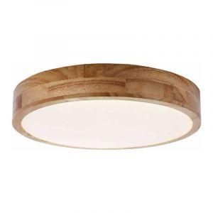 Brilliant Plafondlamp Slimline Hout G97068/75