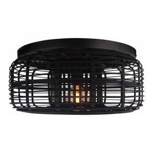 Brilliant Plafondlamp Crosstown Zwart 97181/76
