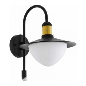 Eglo Wandlamp met sensor Sirmione Zwart 97286