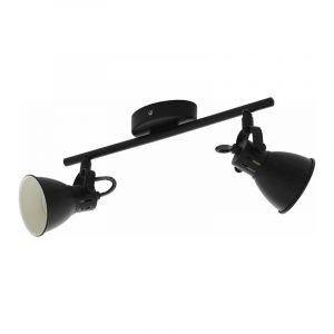 Eglo Spotlamp Seras 2-lichts Zwart 98398