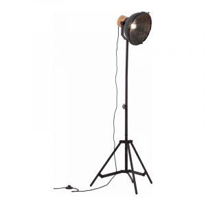 Brilliant Vloerlamp Emma Zwart 99010/86
