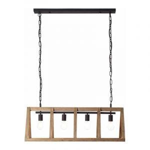 Brilliant Hanglamp Matrix Wood Hout 99062/66