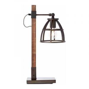 Brilliant Tafellamp Matrix Hout 99135/46