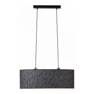 Brilliant Hanglamp Galance Zwart 99189/06