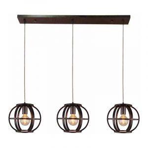 Brilliant Hanglamp Basia Zwart 99253/46